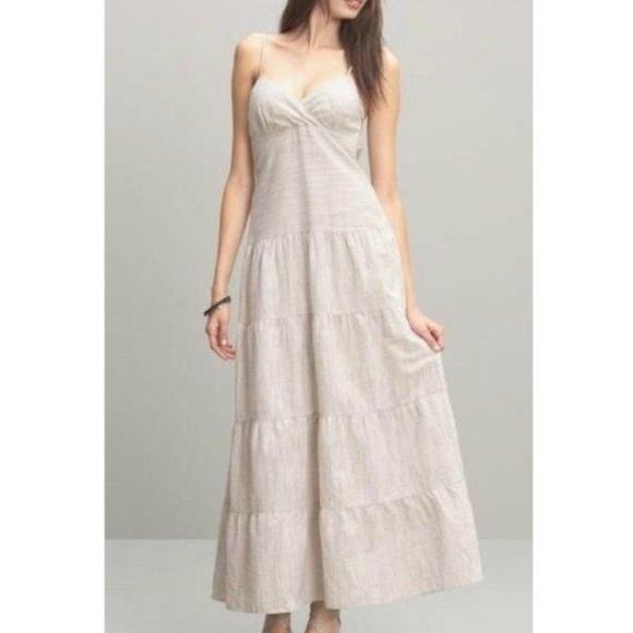 e3745df33b0 Banana Republic Dresses   Skirts - Banana Republic Linen Tiered Maxi Dress